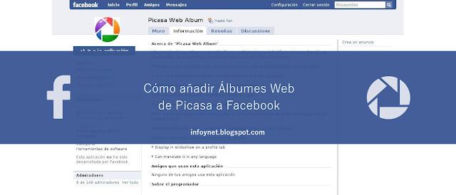 Cómo añadir Álbumes Web de Picasa a Facebook