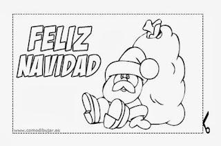 dibujo de navidad