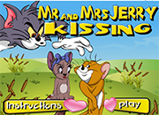 Mr And Mrs Jerry Kissing