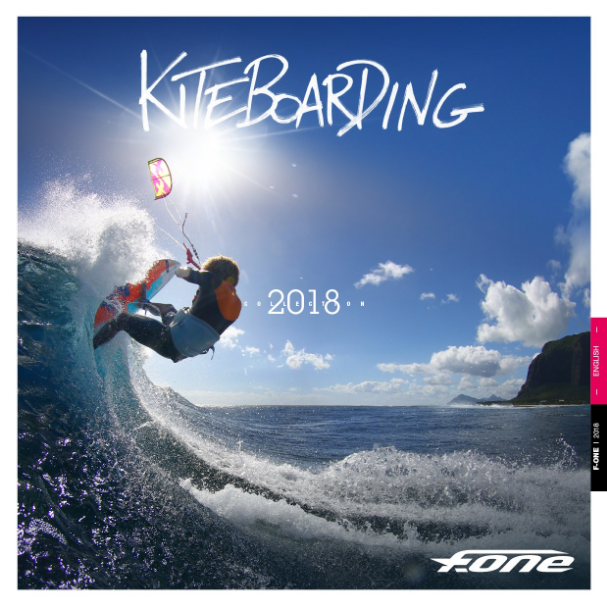CATALOGO KITE F-ONE 2018