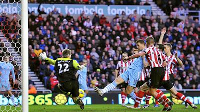 Sunderland 1 - 0 Manchester City (2)