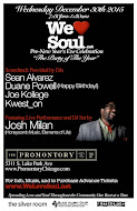 Wed Dec 30th: We Love Soul Pre-NYE Celebration