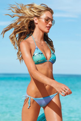 bikini con lentejuelas