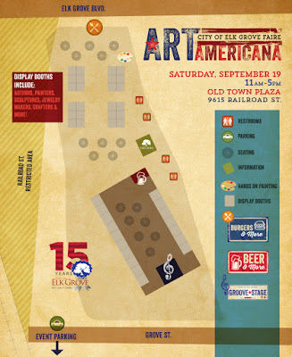 Elk Grove Hosting First Art Americana Faire Tomorrow in Old Town Plaza