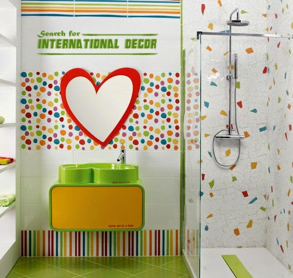 18 cool kids bathroom decorating ideas for Kids bathroom accessories