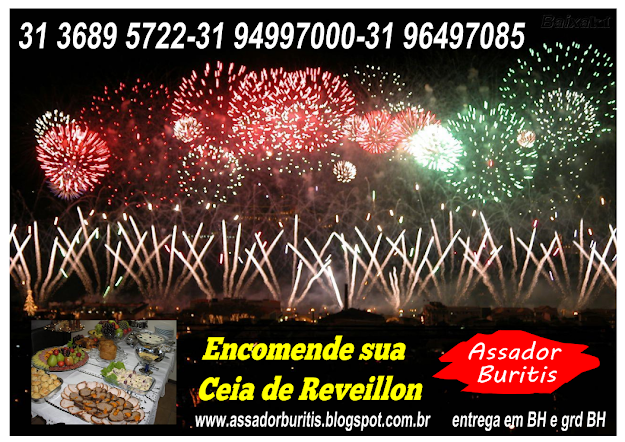Encomende Reveillon em Belo Horizonte