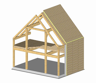 common rafter frame