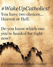#WakeUpCatholics!