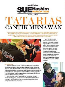 Artikel SUE HASHIM di majalah DARA dan NUR