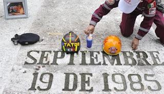 Rinde el Gobierno Homenaje a Víctimas del Terremoto del 85