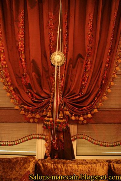 les caches rideaux marocain - Rideaux Marocain Prix