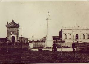 Carmen de Patagones en 1882.
