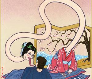 Rokurokubi (Hantu Jepang Leher Panjang)