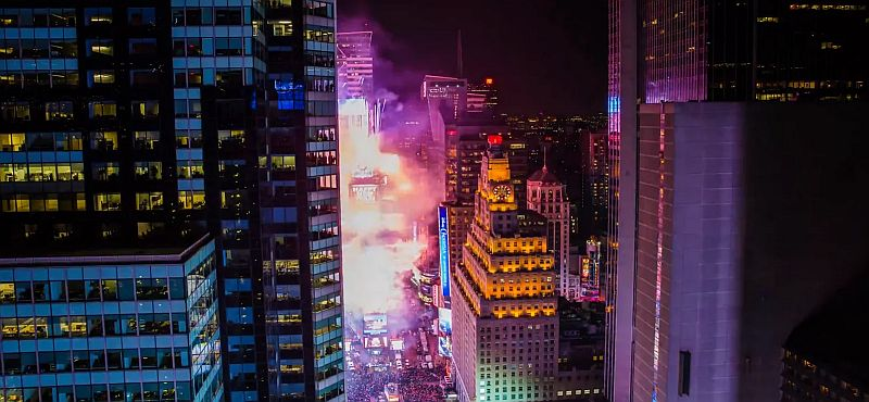 Atomlabor Blog New Year's Eve - New York City Timelapse