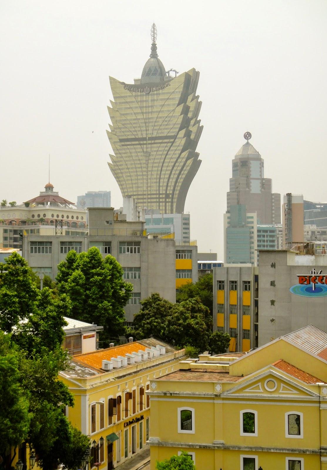 The Grand Lisboa Casino Macau