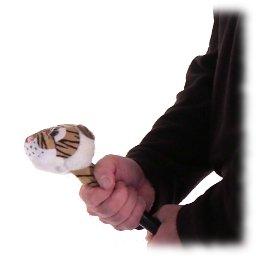 Cabalgar sobre un tigre, coger un tigre por la cola, juego para fiestas