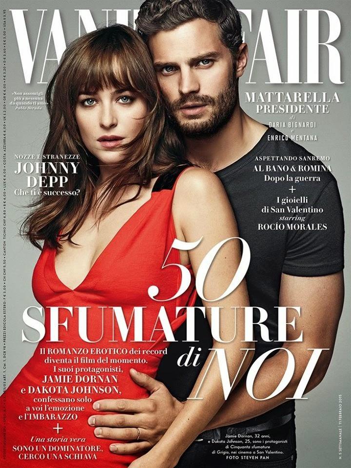 Jamie Dornan Life Jamie And Dakota On The Cover Of Vanity