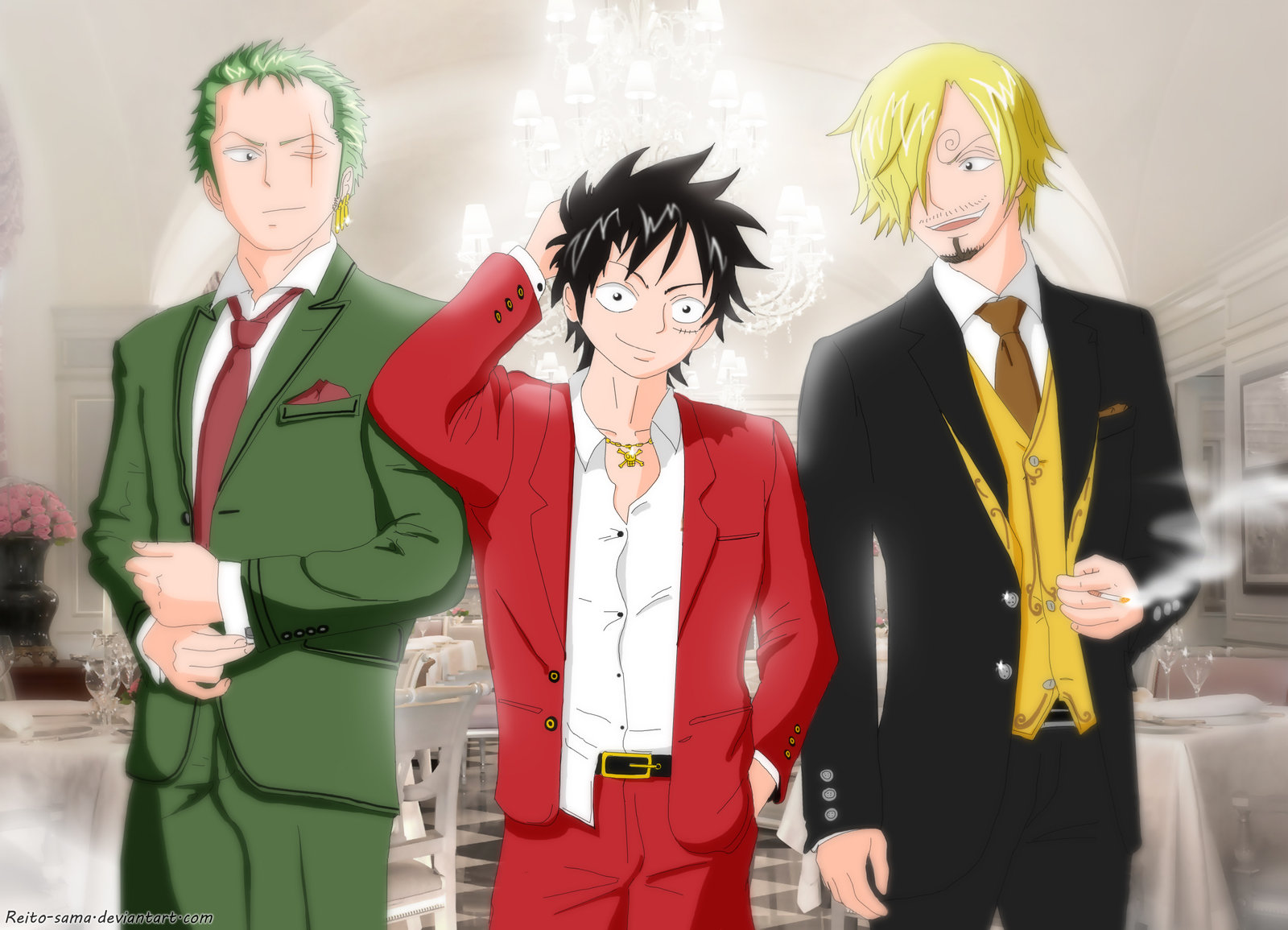 Biodata Lengkap Luffy, Zoro And Sanji One Piece | Jerz  One