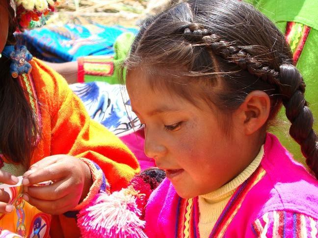 Os 'filhos do Sol - Inti', Peru
