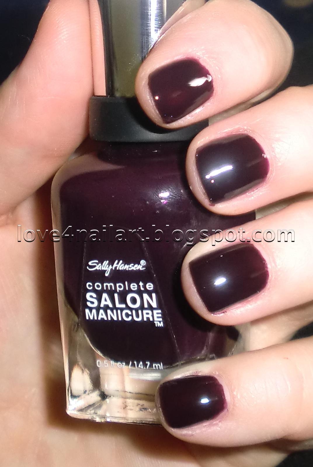 Love4NailArt: Sally Hansen Complete Salon Manicure Nail Polish