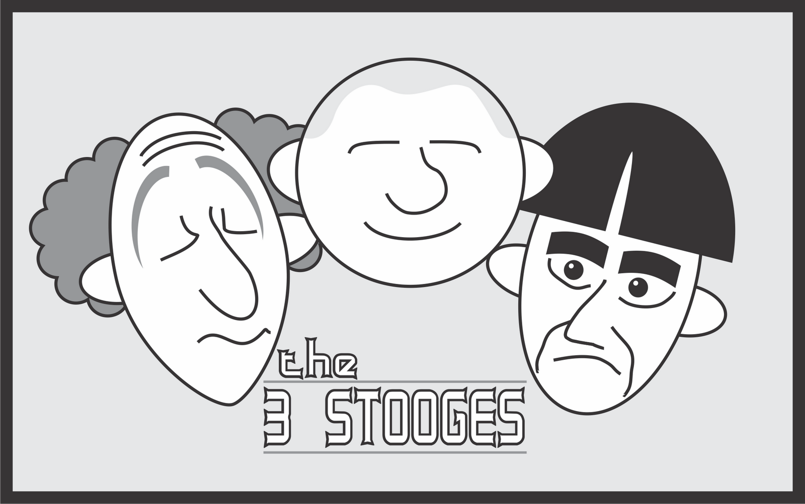 Matt 39 s sketch pad for The three stooges coloring pages
