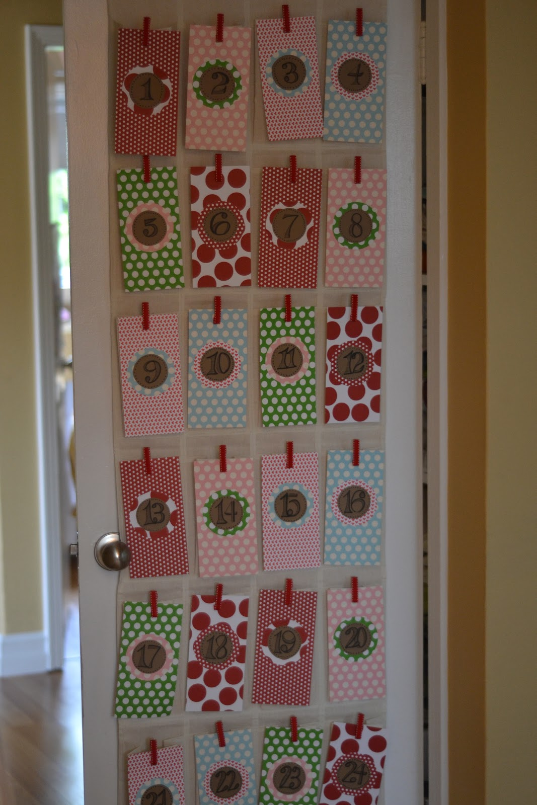 Sewn Advent Calendar Ideas : Seedling to sprout homemade toddler advent calendar a no