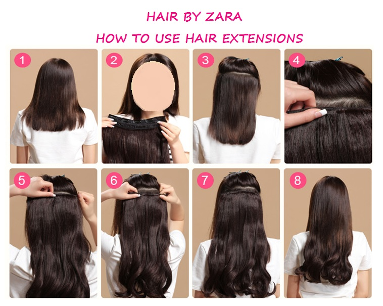 Hair By Zara Hair Extension Maintenance