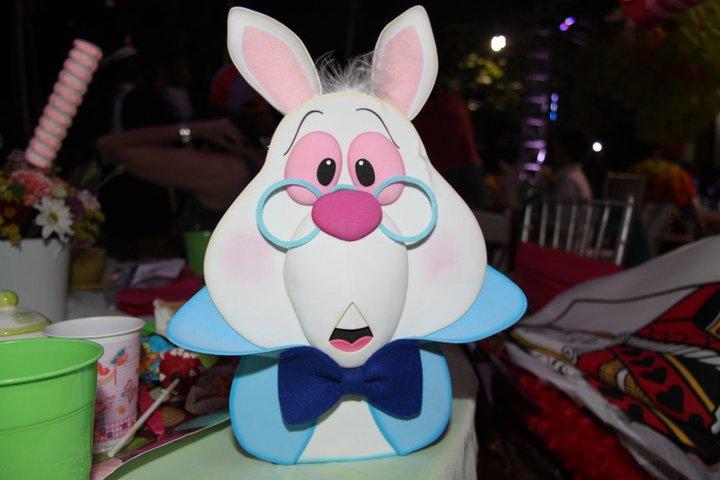 Joha cumplea os infantiles alicia en el pais de las maravillas - Conejo de alicia en el pais de las maravillas ...