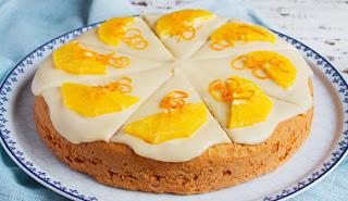 #receita de #bolo de #laranja com #requeijao