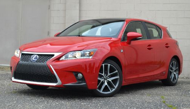 Lexus CT200h Driven Review