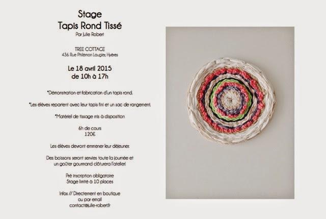 Stage Julie Robert Tissage contemporain Marseille
