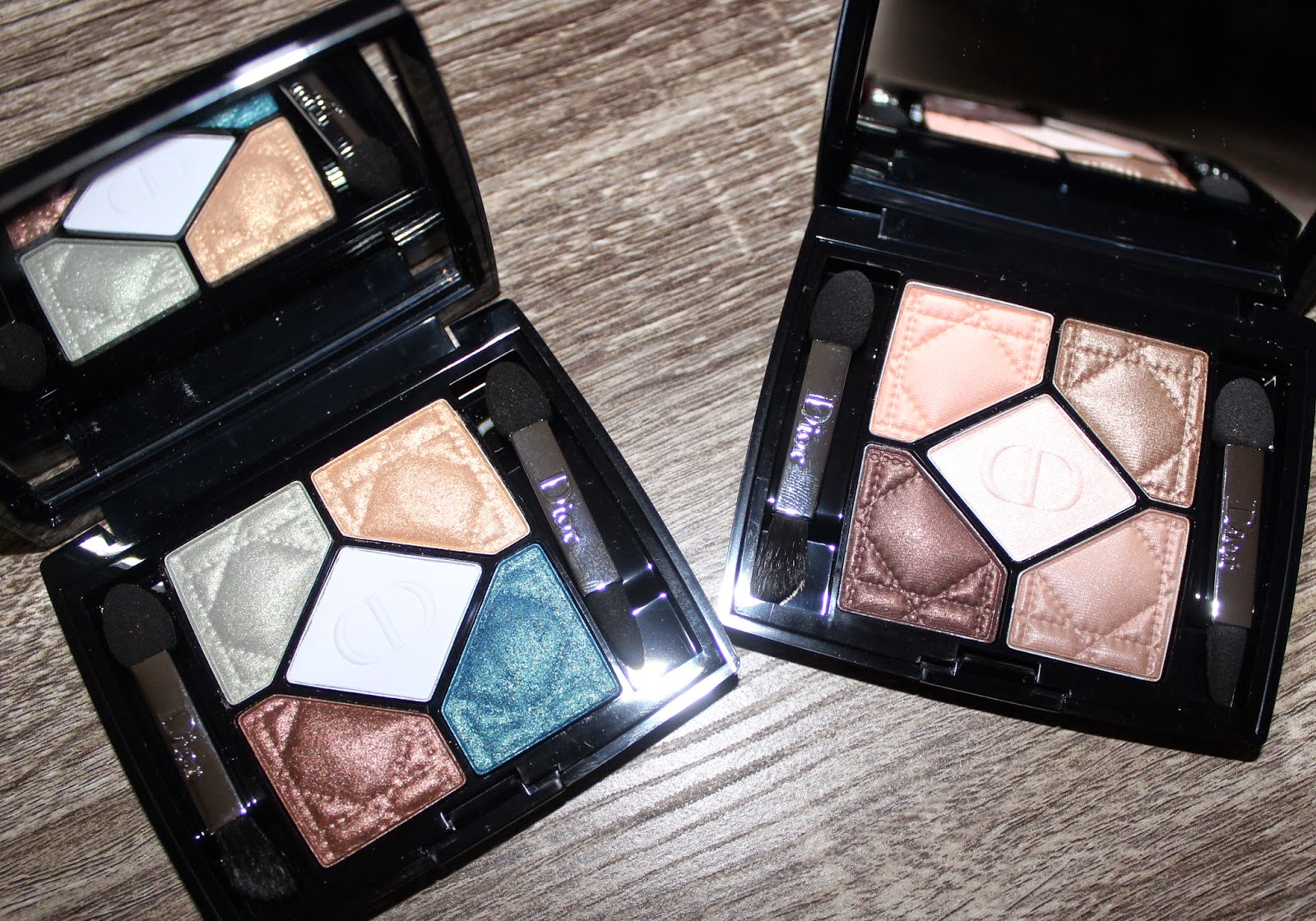 Dior 5 Couleurs Eyeshadow Palette in Ambre Nuit & Contraste Horizon