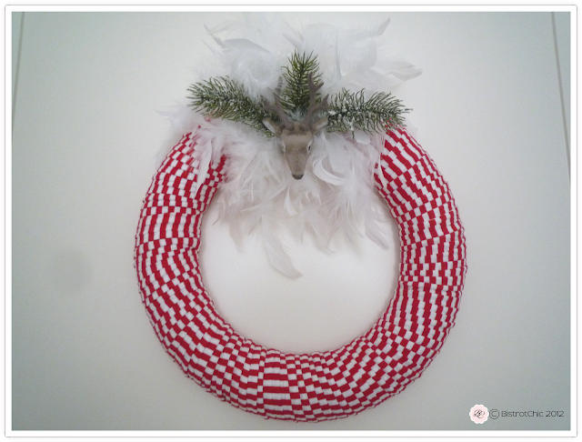 Christmas wreath from BistrotChic