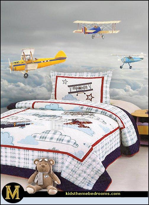 Decorating Theme Bedrooms Maries Manor Airplane Theme