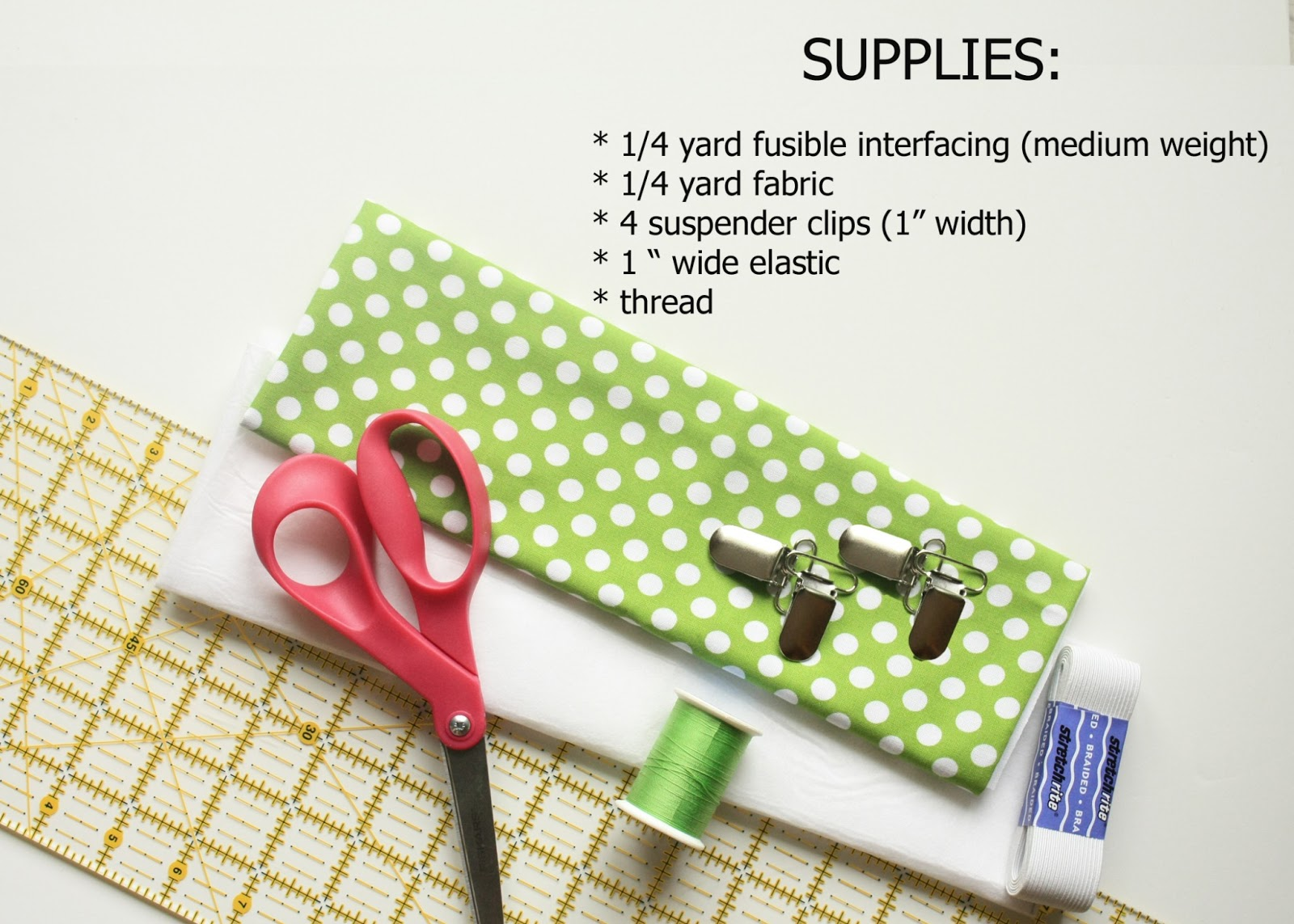 how to make suspenders out of ribbon