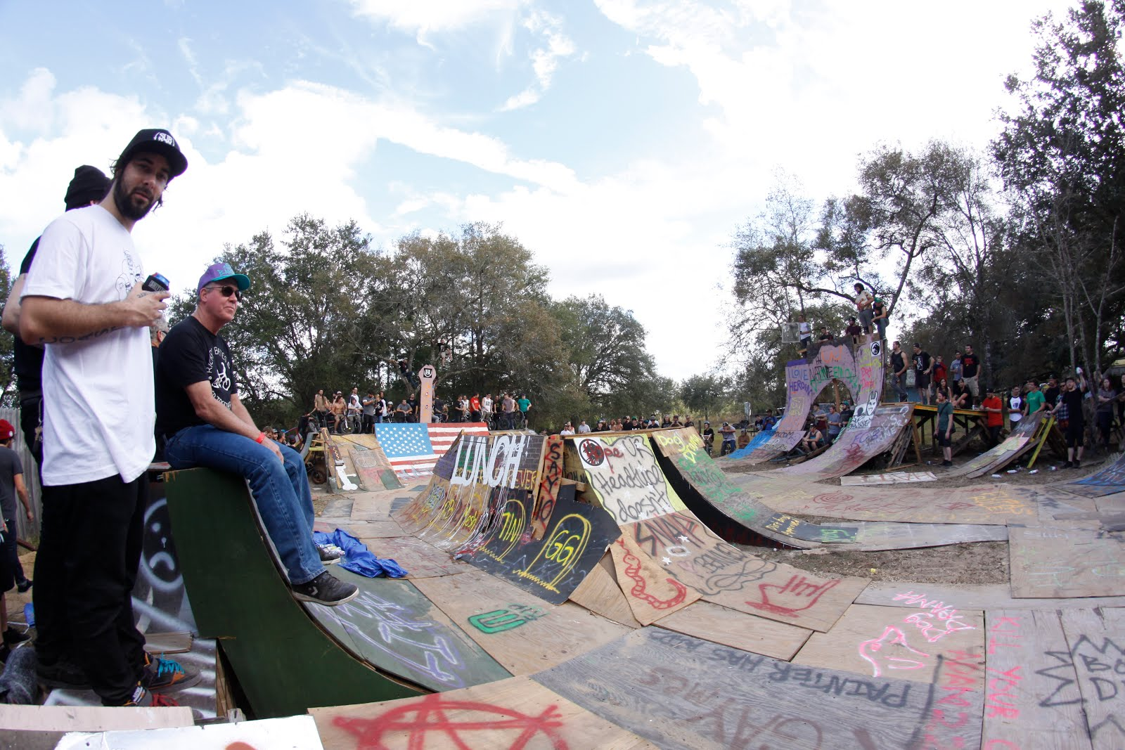 daily grind bmx and skate shop banned in the backyard weekend