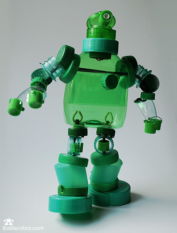 Робот своими руками пластиковых бутылок