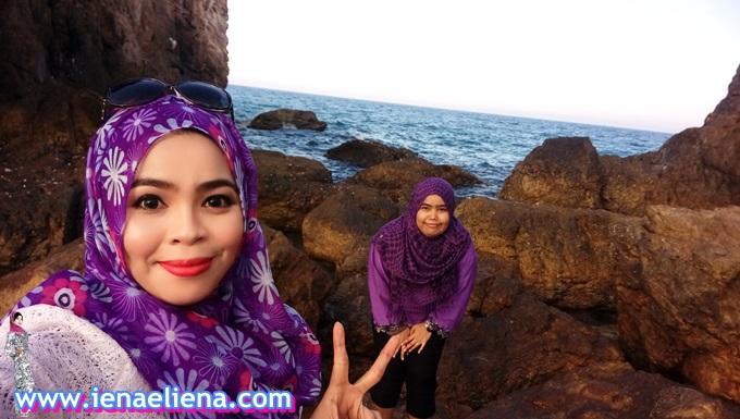 Selfie di Pantai kemasik terengganu