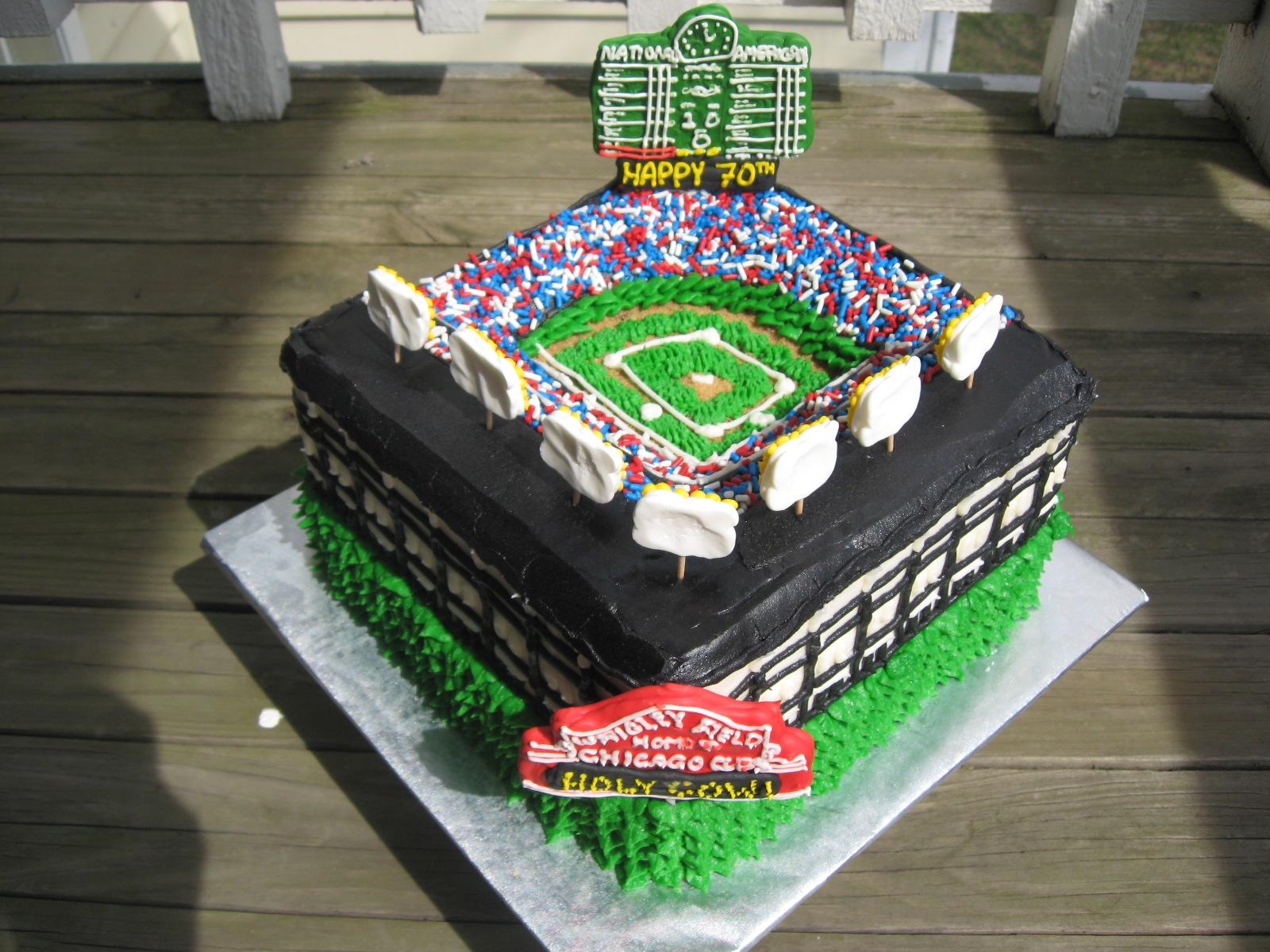 Cakeopolis 94 Wrigley Birthday Cake