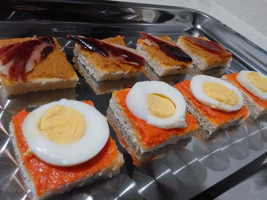 Recetas canapes for Canapes y aperitivos