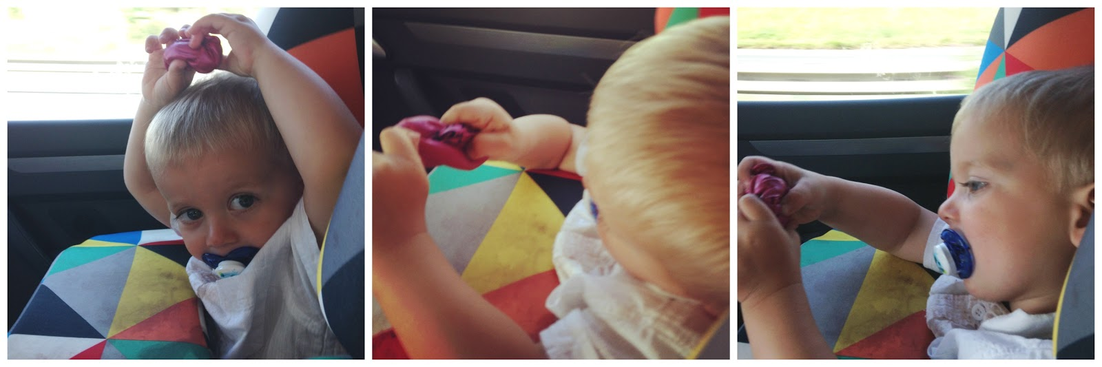 keep toddler entertained on road trip