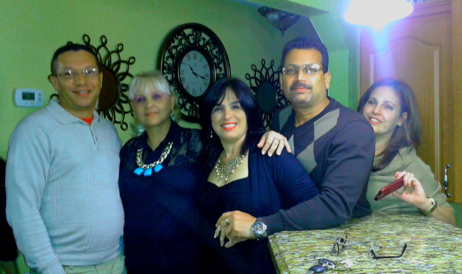 CON LA FAMILIA EL DIA DE ACCION DE GRACIA 2014