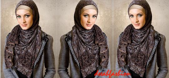 Kreasi Jilbab Etnik Ethnic Hijab Style