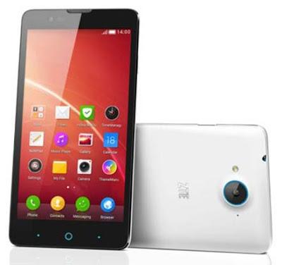 Spesifikasi dan Harga ZTE Blade V5, Smartphone Android Jelly Bean Kamera 13 MP