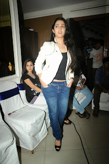 Actress Charmi Kaur Pictures in Jeans at One by Two Movie Celetes 20 Years Event  0165.jpg