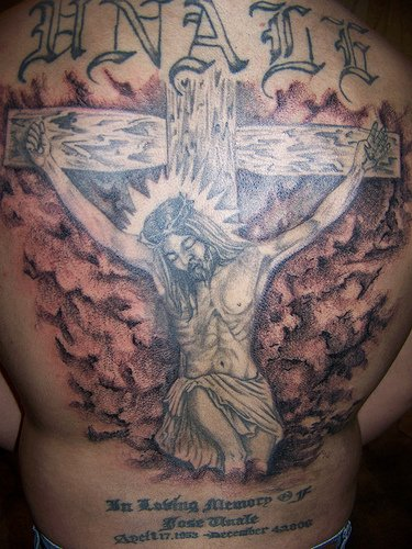 Jesus Tattoos For Girls The point here being is that some people go and get
