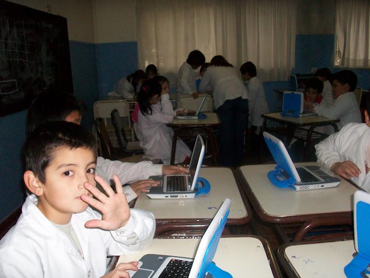 Estudiando con las netbooks
