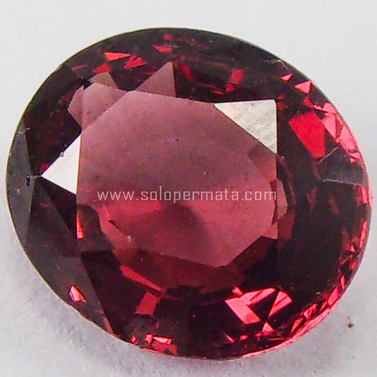 Batu Permata Rhodolite Garnet Ceylon