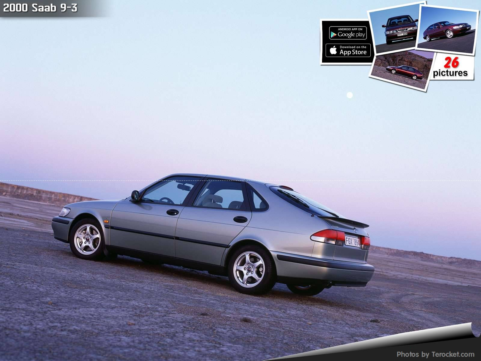 Hình ảnh xe ô tô Saab 9-3 2000 & nội ngoại thất
