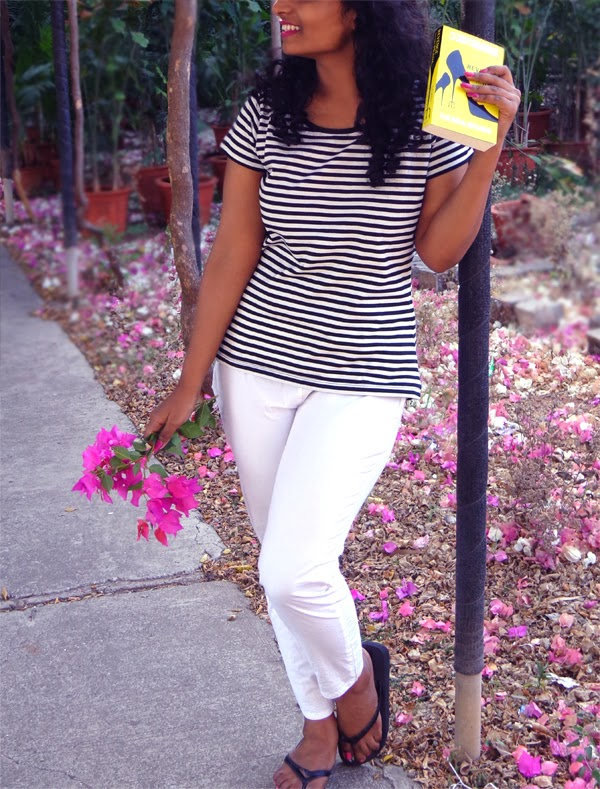 black and white stripes